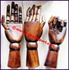 Female Wooden Model Hand
