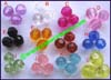 Faceted Acrylic Beads
