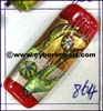 Cylinder Flower Lampwork Glass Bead