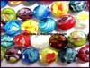 Smooth Lampwork Glass Bead