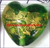 Murano Heart Glass Beads