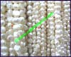 Pearl Bead RoundedFlat-Sided Shaped