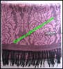 Royal Rossie Floral Cashmere Scarf