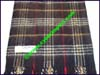 Royal Rossie Plaid Cashmere Scarf