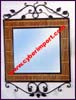 Iron Rattan Wall Mirror