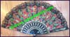 Bamboo Silk Fan Painted