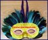 Costume Feathered Mask