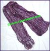 Glitter Synthetic Cotton Blend Scarf