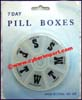 Pill Box Pocket