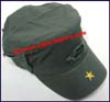 Men's Solid Color Military Caps