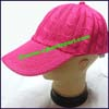 Ladies Crocheted Baseball Cap