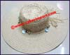 Ladies Sea Grass Big Brim Hat