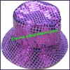 Ladies Shiny Bucket Hat