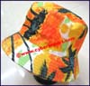 Ladies Tropical Bucket Hat