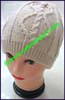 Ladies Crocheted Knit Stocking Cap