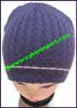 Ladies Two-Color Knit Stocking Cap
