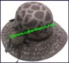 Ladies Rabbit Fur Blend Medium Brim Hat 1pc