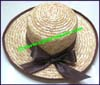 Ladies Women's Grass Medium Brim Hat