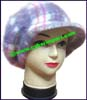 Ladies Fur Newsboy Cap