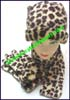 Ladies Animal Hat Sets