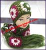 Ladies Crocheted Hat Sets