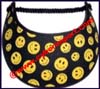Ladies Smiley Face Sun Visor