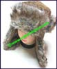 Ladies Animal Print Trapper Hats