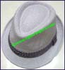 Men's Cotton Trilby Hat
