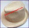 Men's Hemp Trilby Hat