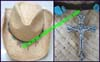 Men's Christian Western Cowboy Hat