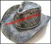 Men's Distressed Western Cowboy Hat