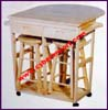 Kitchen Hardlines Cart Table Stool Wood