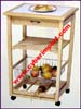 Kitchen Hardlines Cart Wine