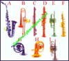 Miniature Musical Wind Instruments