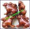 Dog Netsuke Ironwood