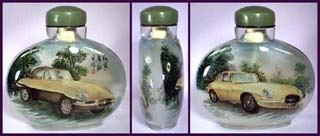 Reverse Paint Snuff Bottle