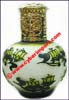 Perfume Bottle Glass Painted
