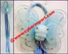 Hair Ornaments Pony Holder Elastic Butterfly