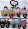 metal elastic pony holder hair ornaments