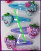 Resin Snap Hair Pins